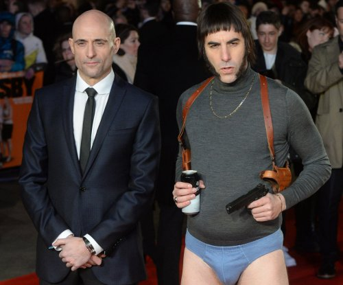 Sacha Baron Cohen attends 'Grimsby' premiere in underwear