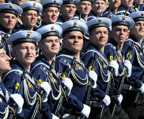 Russia's Victory Day parade boasts 10,000 troops, tanks, missiles
