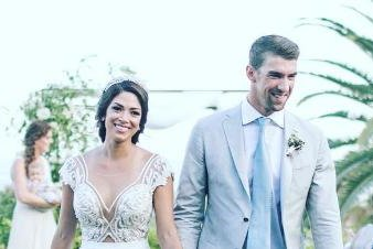 Michael Phelps and Nicole Johnson marry again in Mexico