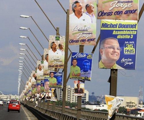 Ecuador holding mandatory elections to replace Correa