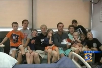 Michigan family welcomes 14th consecutive son