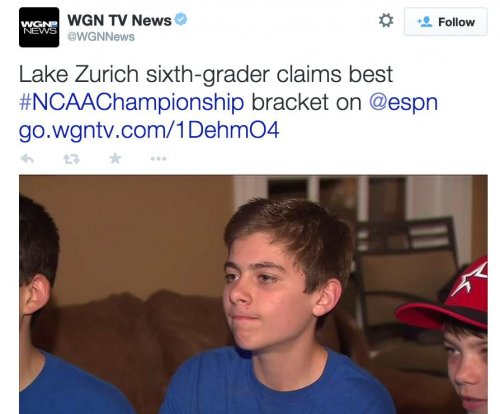 12-year-old snubbed by ESPN, uses bracket to help others