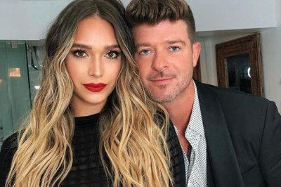 Robin Thicke expecting baby No. 2 with April Love Geary
