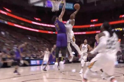 Jazz star Donovan Mitchell provides NBA dunk of the night