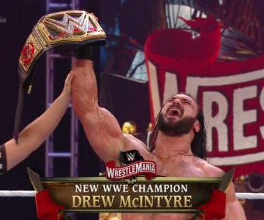 WWE WrestleMania 36: Drew McIntyre, The Fiend win big