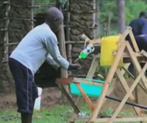 Kenyan boy, 9, receives award for hand-washing machine invention