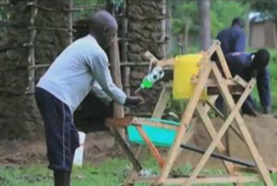 Watch:-Kenyan-boy,-9,-receives-award-for-hand-washing-machine-invention