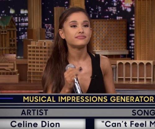 Watch: Ariana Grande imitates Celine Dion on 'Tonight Show'