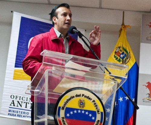 U.S. sanctions Venezuelan vice president, calls him a drug 'kingpin'