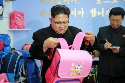 Report: Backpacks fashionable, popular in Pyongyang