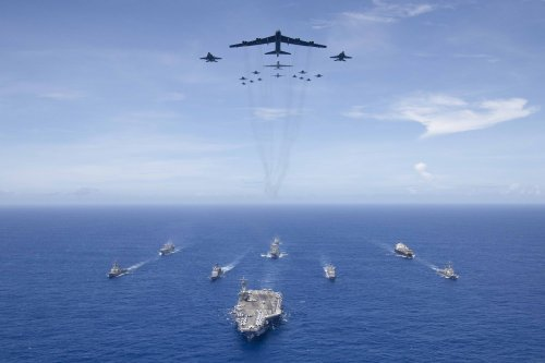 U.S. Pacific Fleet conducts Valiant Shield exercise
