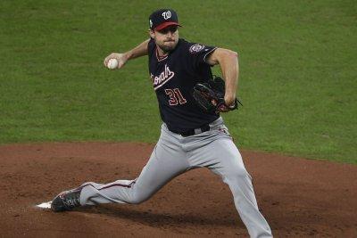 World Series: Nationals' Max Scherzer scratched from Game 5 start