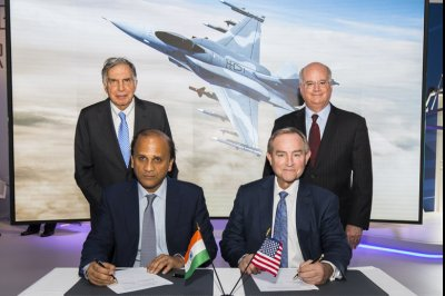 Lockheed, Tata agree to move F-16 production line to India
