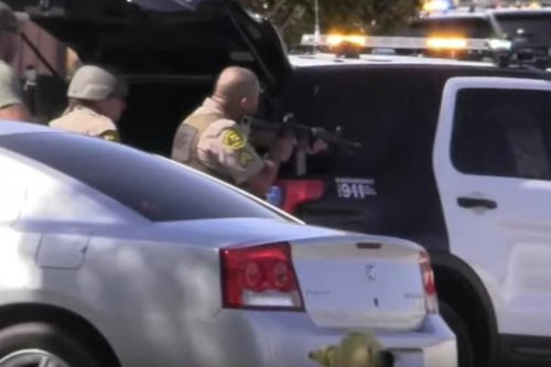 Manhunt searching for sniper who shot LA County deputy