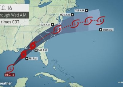 Budding Tropical Storm Nestor to target northwest Florida