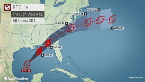 Budding Tropical Storm Nestor to target northwest Florida