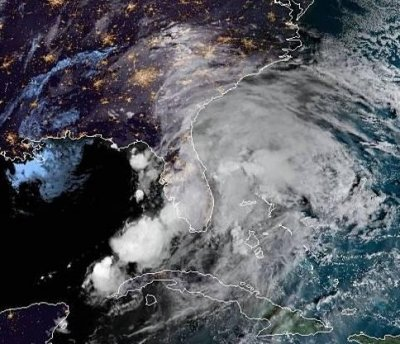 Tornado touches down ahead of Tropical Storm Nestor landfall