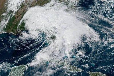 Nestor remnants make landfall in northern Florida