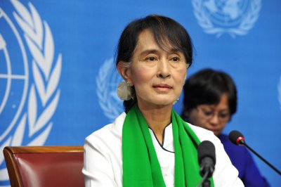 Suu Kyi delivers belated Nobel lecture