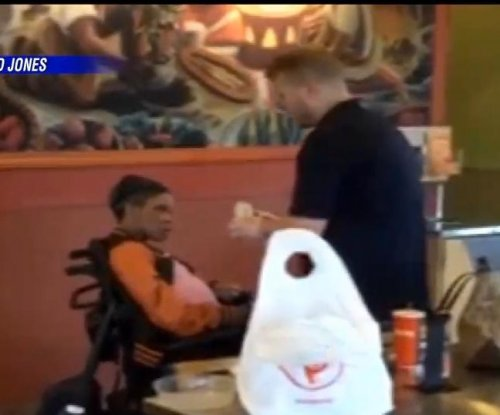 Former Qdoba employee helps feed disabled customer