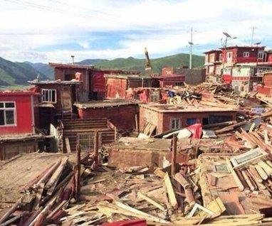 China demolishes buildings at Tibetan Buddhist academy Larung Gar