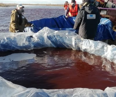Russia declares state of emergency in Siberia after oil spill