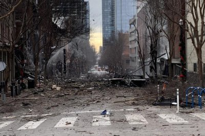 Police say RV emitted warning message before bomb blast in Nashville