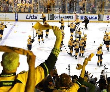 Rookie Frederick Gaudreau paces Nashville Predators to Stanley Cup Final-tying victory