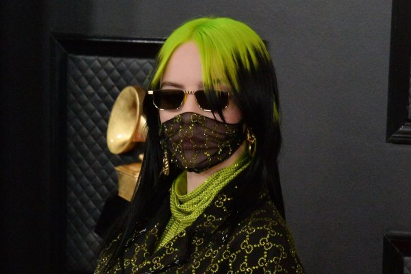 Image result for billie eilish performing at the oscars