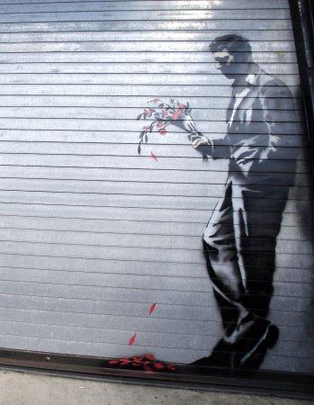 Banksy artwork noting Syrian anniversary to go global