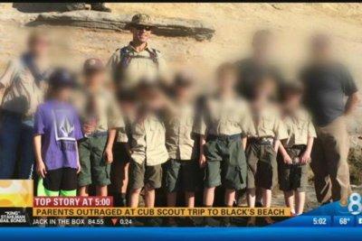 Cub Scouts' hike through nude beach shocks parents