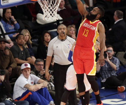 Harden, Houston Rockets advance past Dallas Mavericks