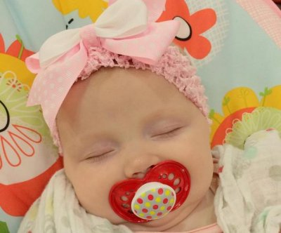 Anna Duggar's daughter Meredith sleeps in new photo