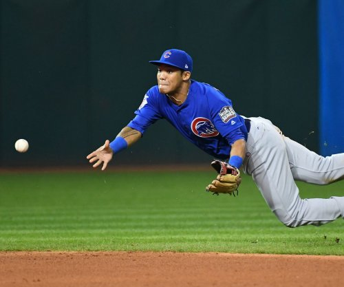 Chicago Cubs Addison Russell returns to lineup, denies domestic violence charge
