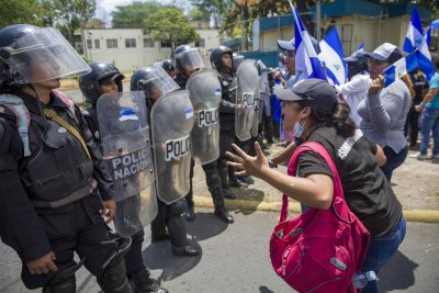 More than 100,000 have fled violence in Nicaragua, U.N. report says