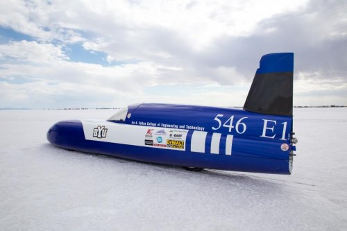 BYU electric car breaks another land speed record