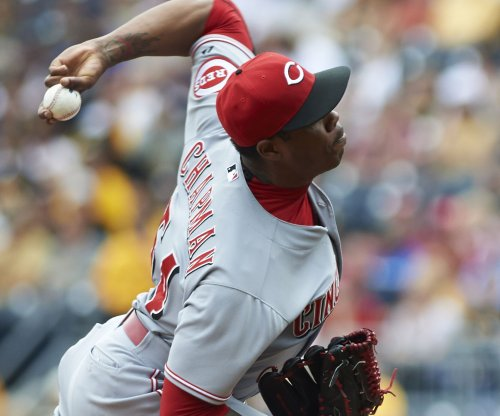 Cincinnati Reds put Chapman on paternity list, push back Cueto