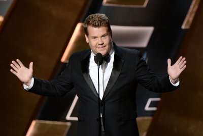 James Corden channels inner diva for 'Dancing With The Stars' bumper