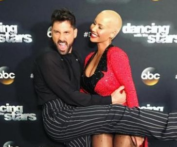 Amber Rose thanks Maksim Chmerkovskiy after 'Dancing' elimination