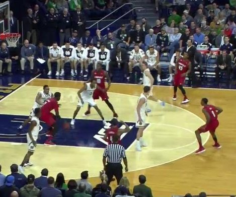 No. 23 Notre Dame upends No. 9 Louisville