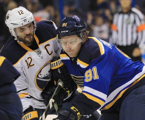 Brian Gionta paces Buffalo Sabres in 1,000th game