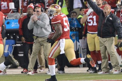 San Francisco 49ers GM John Lynch says rumors about NaVorro Bowman are 'completely false'