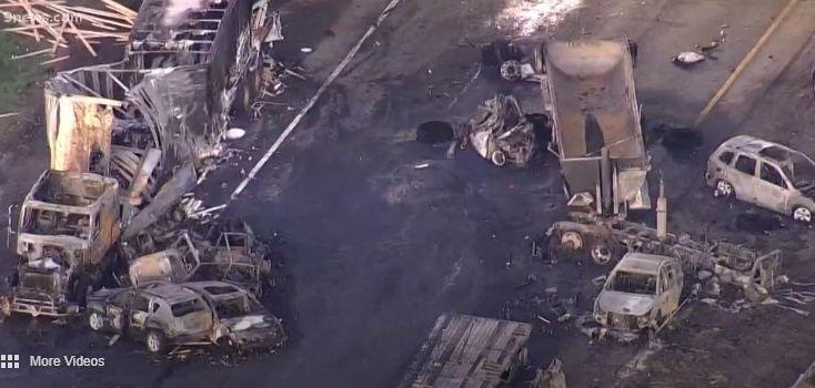 Truck driver Rogel Aguilera charged in fiery freeway crash