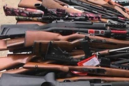 Federal agents seize 1,000 guns, boxes of ammo at upscale