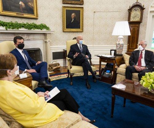 Biden tells lawmakers he's 'prepared to compromise' on infrastructure bill