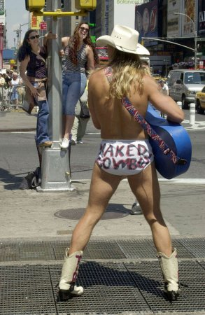 Naked Cowboy announces NYC mayor bid