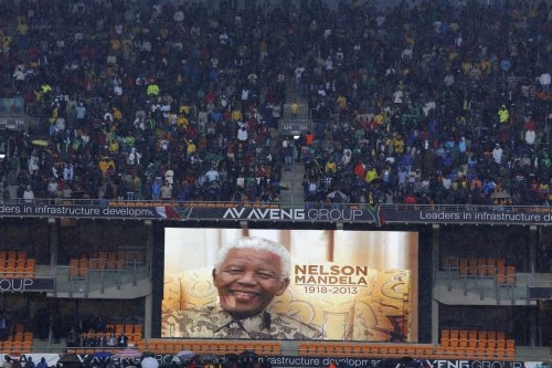 Report: 'Interpreter' at Mandela memorial charged with murder