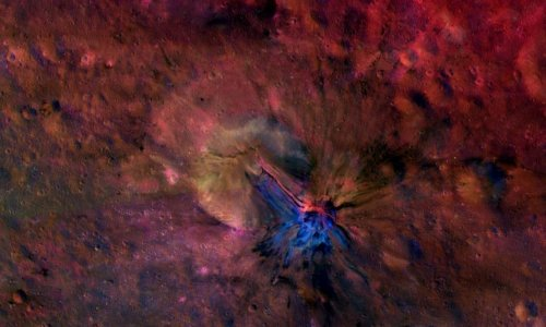 NASA's Dawn spacecraft captures colorful pictures of asteroids