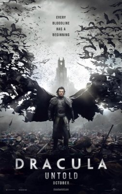 Luke Evans stars in dramatic first trailer for 'Dracula Untold'