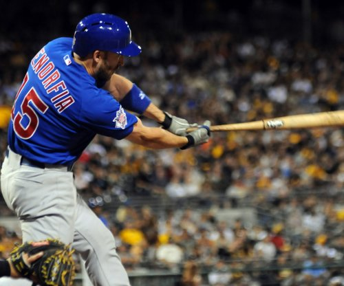 Chris Denorfia's walkoff homer in 11th lifts Chicago Cubs past Kansas City Royals